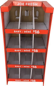 Suit Display Stands Stand Up Exhibition Cardboard Display Stands For Children Babysuit 41