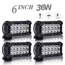 Dot Approved Led Lights Motorcycle Atv Offroad 6in Dot Approved Led Work Lights