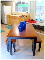 Nine Red How To Diy Triangle Pattern Kitchen Tabletop With Blue