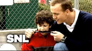 peyton manning kids. Peyton Manning SNL Kids
