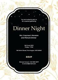 Formal Dinner Invitation Sample Sample Business Invitations Formal Invitation To Dinner