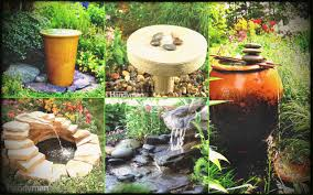 diy outdoor water fountain ideas is nothing as beautiful landscape