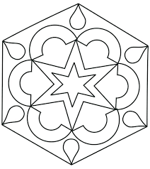 Symmetrical Drawing Pages Printable Symmetry Coloring Sheets Ruler