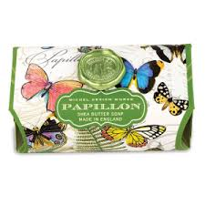 <b>Michel Design Works Papillon</b> Bath Soap Bar