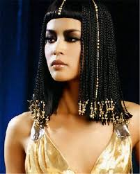 Ancient Egyptian Hair Style hot sale cos cleopatra hairstyle braid hair wig egypt geography 3153 by wearticles.com