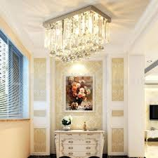 crystal flush mount contemporary square crystal flush mount ceiling lights hallway crystal flush mount ceiling lights crystal flush mount