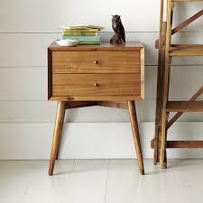 bed side furniture. Mid-Century Bedside Table - Acorn Bed Side Furniture A