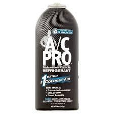 Acprocold Com Chart A C Pro Professional Formula Auto Refrigerant 14 Oz