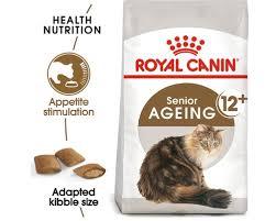 <b>ROYAL CANIN</b> FELINE <b>AGEING</b> +<b>12</b> YEARS CAT FOOD 2KG - My ...