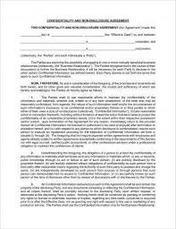 Business Confidentiality Agreement Sample Fascinating 48 Business Confidentiality Agreement Examples PDF