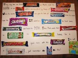 17 best images about chocolate bar letter on pinterest chocolate intended for candy bar letters