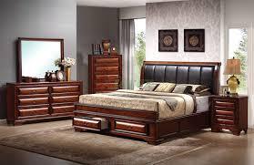 Platform Bedroom Furniture Sets Platform Bedroom Furniture Set With Leather Headboard Beds 115
