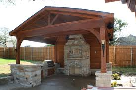 Plans For Outdoor Kitchens Outdoor Kitchen Structures Decks Archadeck Of Fort Worth Tx