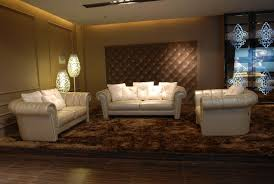 Living Room Furniture Los Angeles Tosh Furniture Luxor Modern Cream Leather Living Room Set Flap
