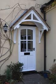 exterior door wood awnings. front door porch awning, period canopy, wooden exterior wood awnings