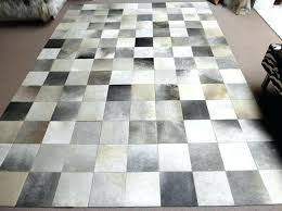 grey cowhide patchwork rug x cm patch rugs australia