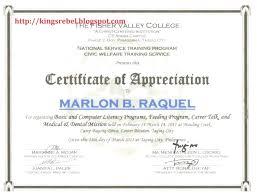 Appreciation Certificates Wording Delectable 48 Certificate Of Appreciation Wording Create Your Own Style