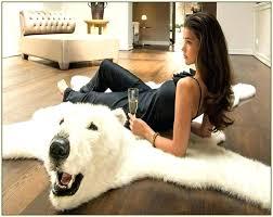 fake bear rug fake bear rug fake bear rug faux polar bear rug fake bear skin