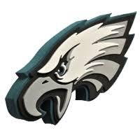 Philadelphia Eagles 3D Logo Wall Sign