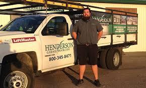 henderson garage doorHenderson Team  Greenway Houston TX  Garage Door Repair Service