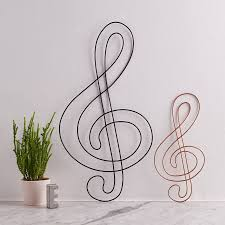 treblecleff wire treble clef by the letter loft notonthehighstreet com