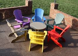 plastic adirondack chairs. The Rustic Adirondack Chair : Colorful Plastic Chairs For Outdoor Plastic Adirondack Chairs