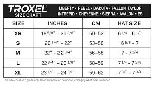 Dakota Grizzly Size Chart Dakota