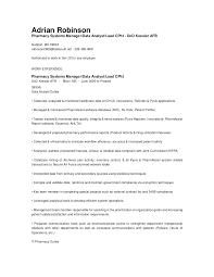 Resume Template Data Analyst Sample Resume Of Data Analyst Analyst ...