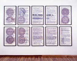 Hans Haackes Proofs Of Commitment Art In Print Art In Print