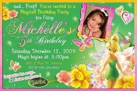 Tinkerbell Invitation Tinkerbell Birthday Invitations Page 3 Happy Birthday Images
