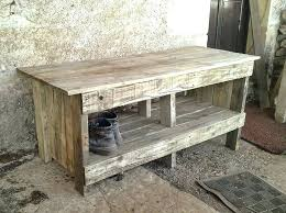 rustic pallet furniture. Diy Pallet Bench Ultra Rustic With Shoes Rack Table Pinterest Furniture T