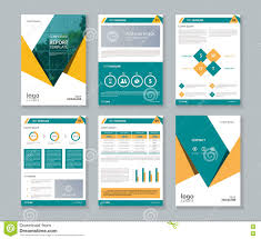 Free Profile Templates Business Company Profile Report And Brochure Layout Template Stock 11