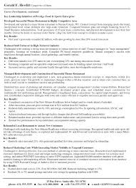 Resume Header Example Examples Of Resumes