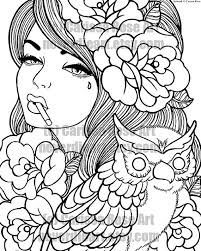 Digital Download Print Your Own Coloring Book Outline Page Taken