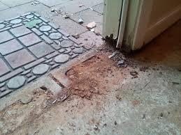 Installing a door threshold on concrete slab - Home Improvement ...