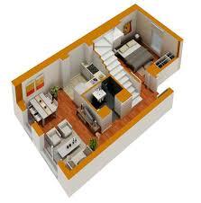 tiny house design plans. Sensational 2 3D Small Home Designs Tiny House Floor Plans Design