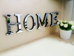 interior 10cmx8cmx1 2cmthick wedding love letters home decoration english 3d classy mirrored wall 10