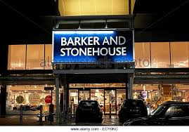 barker and stonehouse furniture superstore england uk stock image barker stonehouse furniture
