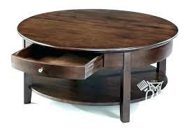 round end table with storage black coffee drawers small tables topic to for living room