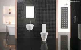 Small Picture Luxury Bathroom Interior with Modern Mosaic Black Tiles Bathroom