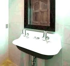 narrow bathroom sink. Literarywondrous Small Wall Hung Bathroom Sink Narrow Sinks Mount Mounted Pictures Design P