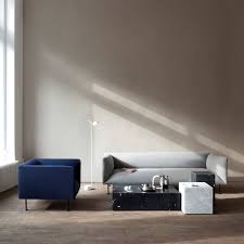 plinth coffee table and plinth side table by