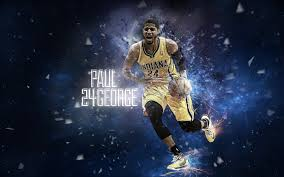 paul george wallpaper young excellent leader of indiana pacers