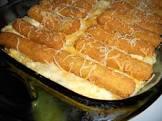 it s a keeper   fish stick casserole