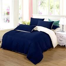 ab side bedding set super king duvet cover set dark blue beige 3 california king duvet cal king duvet cover