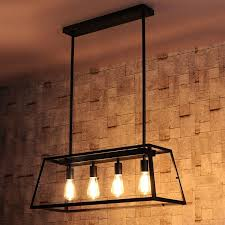 lighting for kitchen islands. maure industrial loft 4light kitchen island pendant chandelier lights ceiling lighting for islands