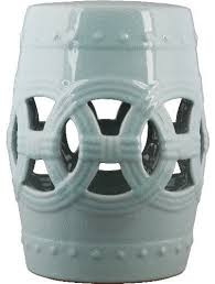 blue garden stool. Incredible Garden Stool In Light Blue Crackle Traditional Accent And Regarding D