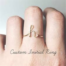 2019 Thin Baguette T Ring Engagement Handmade Rainbow ...