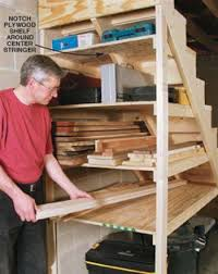 basement stairs storage. Out Of Necessity I Found A Wealth Unused Space Tucked Right Under My  Nose,or Should Say Feet.That Awkward The Basement Steps Stairs Storage E