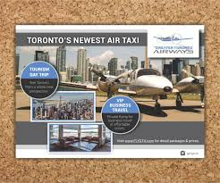 Taxi Advertising And Design Toronto Modern Upmarket Taxi Brochure Design For A Company By Cut